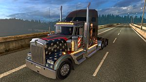 Kenworth W900 truck (fixed)