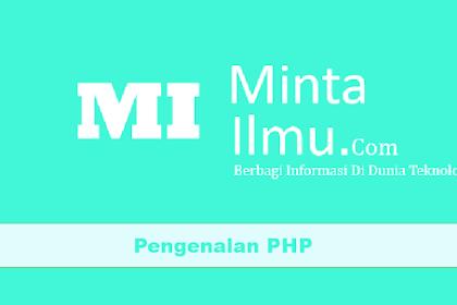 Pengenalan PHP #1