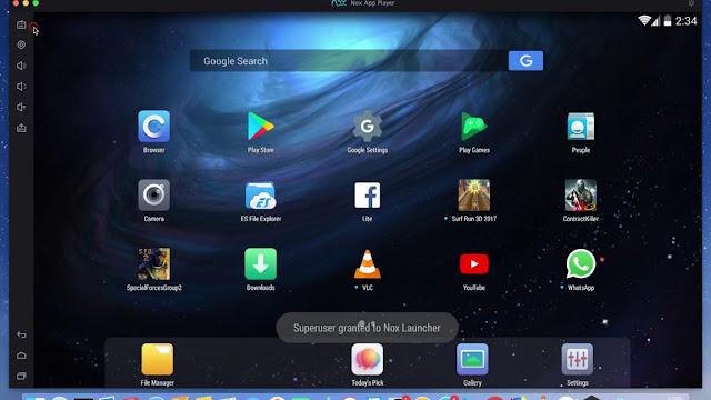 تحميل برنامج Nox App Player لتشغيل تطبيقات الاندرويد