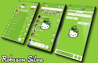 Rc Galaxy Hello Kitty Theme For YOWhatsApp & Fouad WhatsApp By R̳o̳b̳s̳s̳o̳n̳