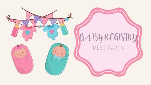 Baby Registry Check List
