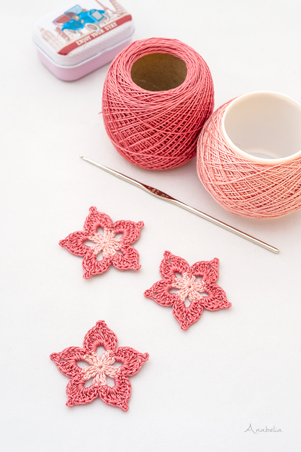 Crochet flower 2_2020 free pattern, Anabelia Craft Design