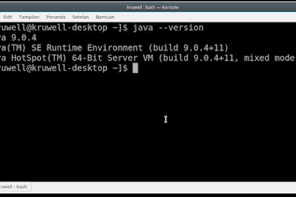 Install Java 9 JDK dan JRE di Linux Fedora 27