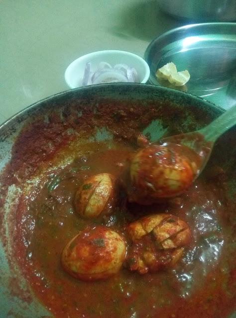 egg gravy for chapathi