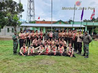 Danramil 05 Mayong, Kapten Inf  Ngadino, Penutupan Persami Saka Wira Kartika Datuk Singarojo