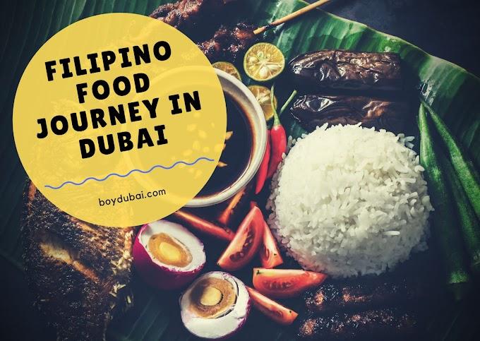 The Filipino food craze in Dubai in the last decade