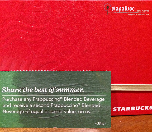 Planner Coupon Starbucks