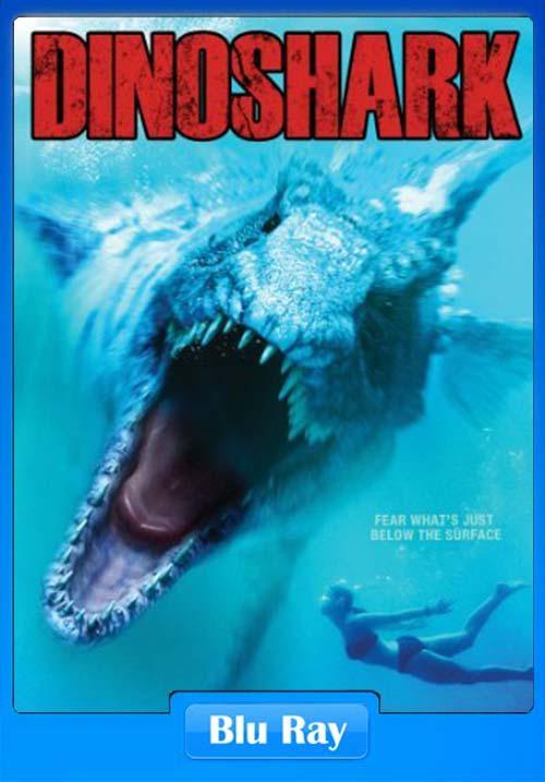 Dinoshark 2010 720p BluRay Dual Audio Hindi English x264   480p 300MB   100MB HEVC Poster