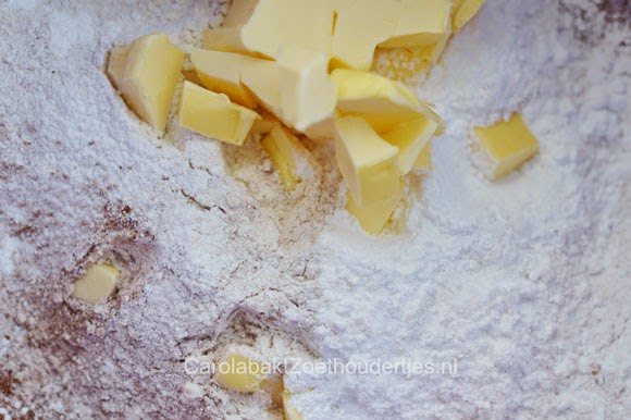 chocolade korstdeeg maken