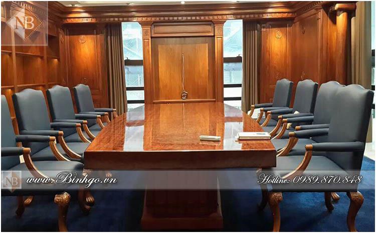 Thi công bàn Giám Đốc mẫu bàn Obama