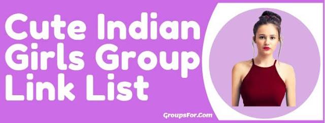 cute indian girls whatsapp group 2020