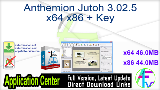 Anthemion Jutoh 3.02.5 x64 x86 + Key