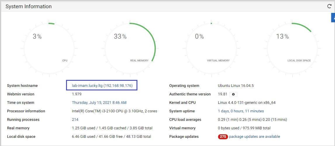 Step By Step Instal Webmin di Linux Ubuntu 20.04