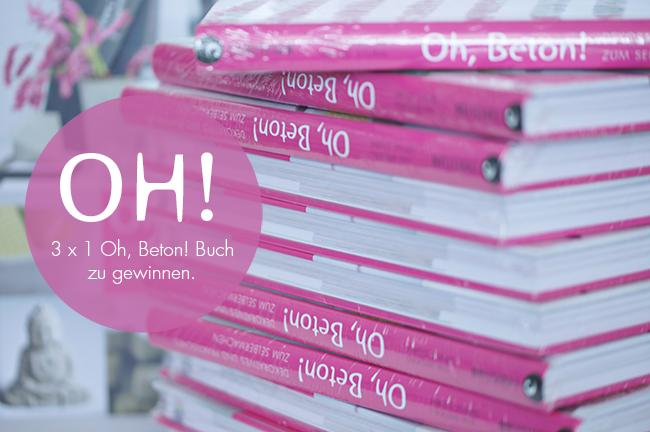 Oh, Beton! Buch | Verlosung