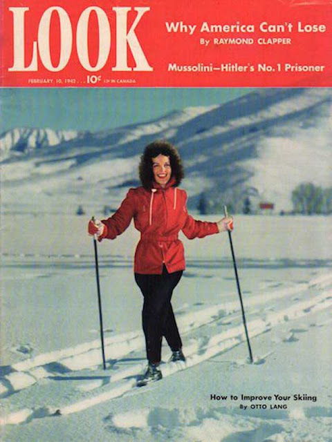 Look magazine featuring Elyse Knox, 10 February 1942 worldwartwo.filminspector.com