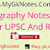 Geography Notes PDF For UPSC And RAS