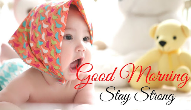 Beautiful Good Morning Baby Doll HD Images