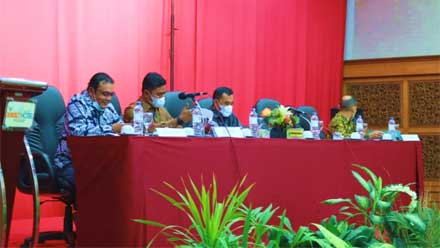 Wabup Solok Buka Rapat Pembahasan Perubahan APBD 2021