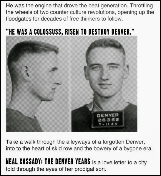 neal cassady essay Neal and carolyn cassady's son is a musician who grew up around ginsberg and remained friends with him all his life i call him my second father, but he was more like an uncle.