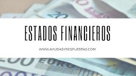 ESTADOS FINANCIEROS BÁSICOS Y CONSOLIDACION