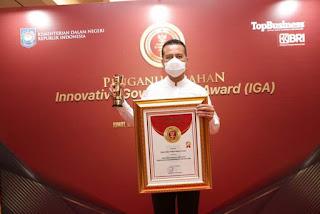 Pemprov Sumut Dapat Penghargaan Innovative Government dari Kemendagri