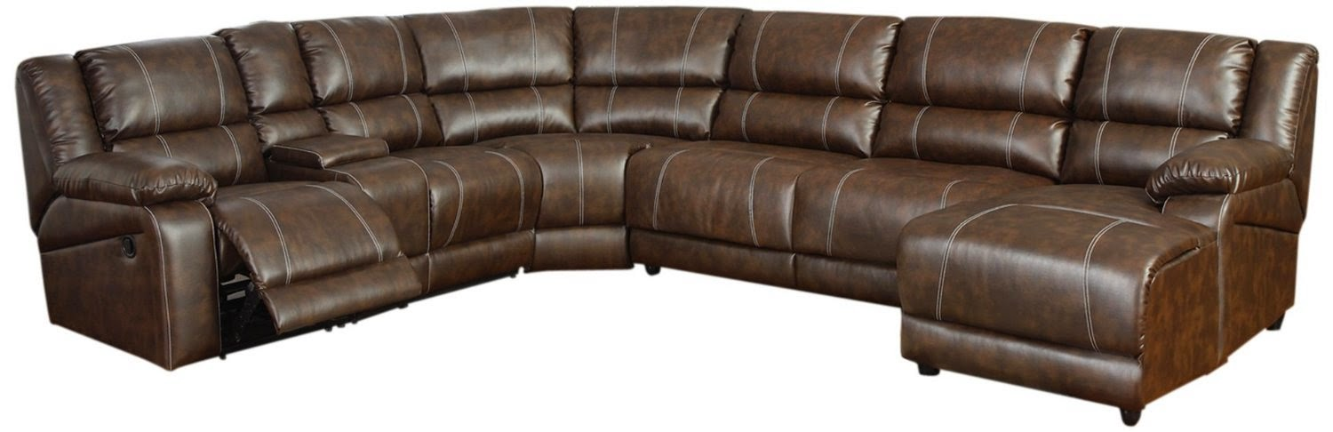 Cheap Reclining Sofa And Loveseat Sets: Curved Leather