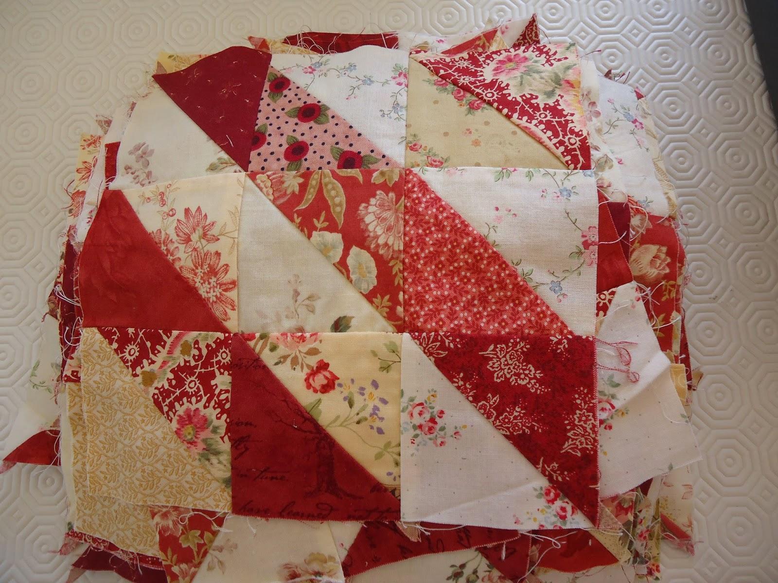 Patricia quilts at home mijn antieke quilt van het quiltersgilde - Quilts gele ...