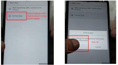 hard reset handphone oppo 3