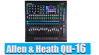 Spesifikasi Mixer  allen heath qu 16 channel