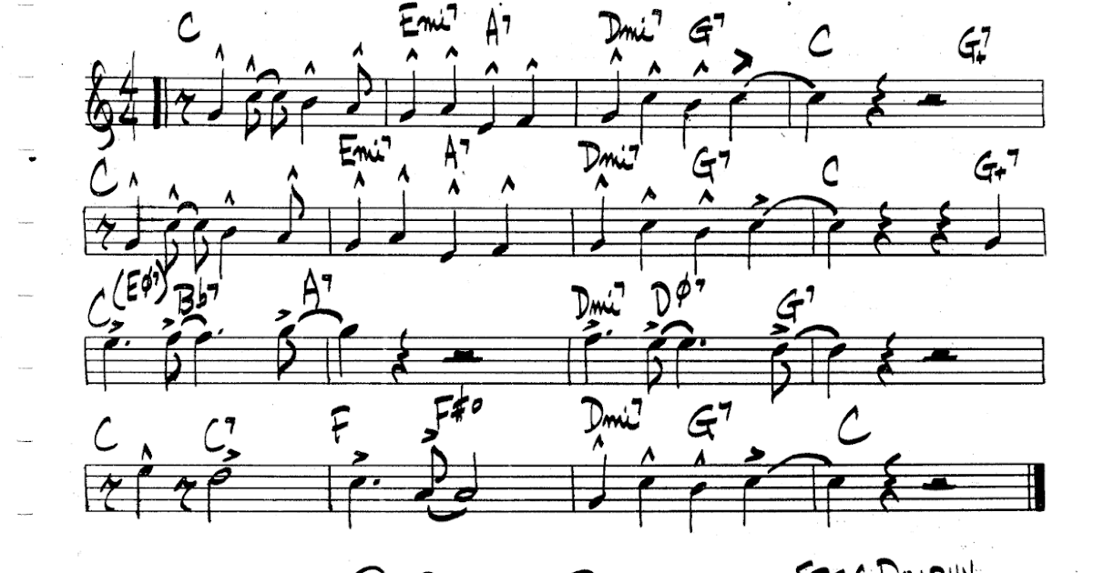 PRACTICE JAZZ: [Jazz Real Book II : Page 315] ST. Thomas