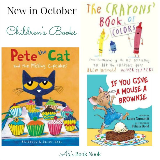 Childrens books being published in October