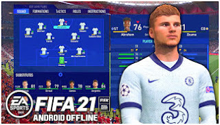 Download FIFA 14 MOD FIFA 21 Offline V3 Best Graphic Update New Transfer & Fixed Tournament