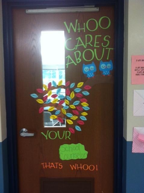 Door Decorations For School Counselors
