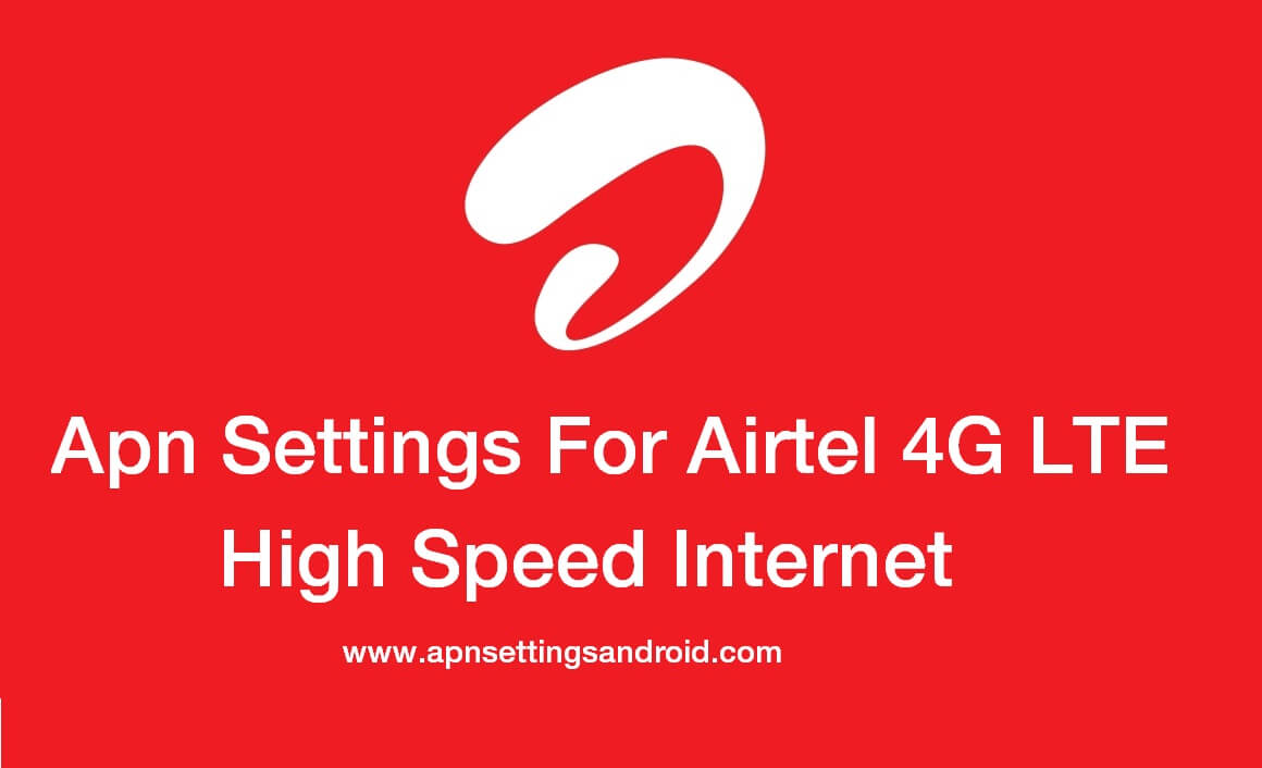 Apn Settings For Airtel