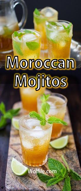 Moroccan Mojitos Recipe #Drink #Mojitos