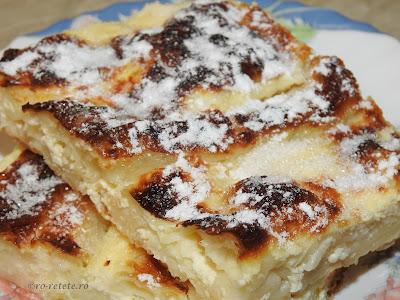 Reteta placinta cu branza de oaie si iaurt dobrogeana traditionala pentru Revelion retete culinare de patiserie de casa,