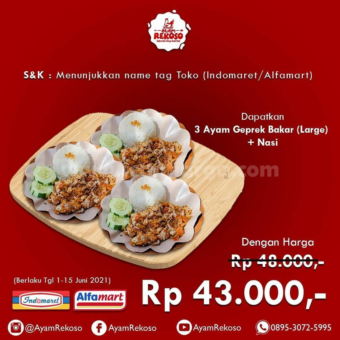 Promo AYAM REKOSO - Khusus Karyawan Indomaret & Alfamart 2