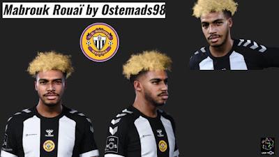 PES 2021 Faces Mbrouk Rouaï  by Ostemads98