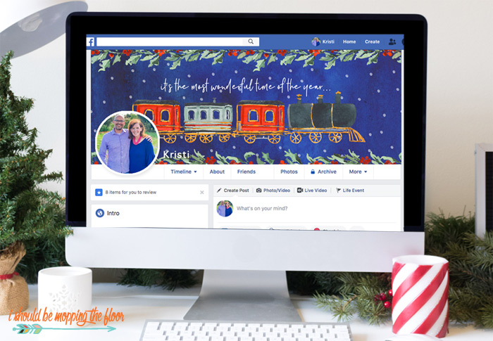 Free Holiday Facebook Timelines