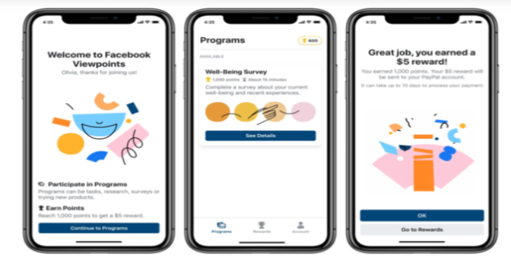 Facebook Launches New Market Research App Called Viewpoints