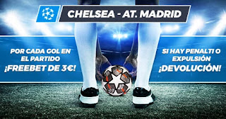Paston promo Chelsea vs Atletico 17-3-2021