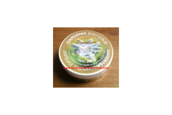 de Boreh Gardenia Body Scrub Premium 250gr
