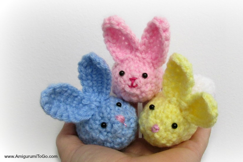 Amigurumi Bunny Ears : Crochet pattern bunny ear beanie and carrot pattern amigurumi