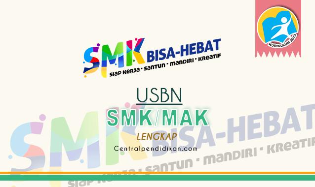 Contoh Soal USBN SMK dan Kunci Jawaban