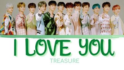 Lirik Lagu TREASURE - '사랑해 (I LOVE YOU) & Terjemahan Lengkap