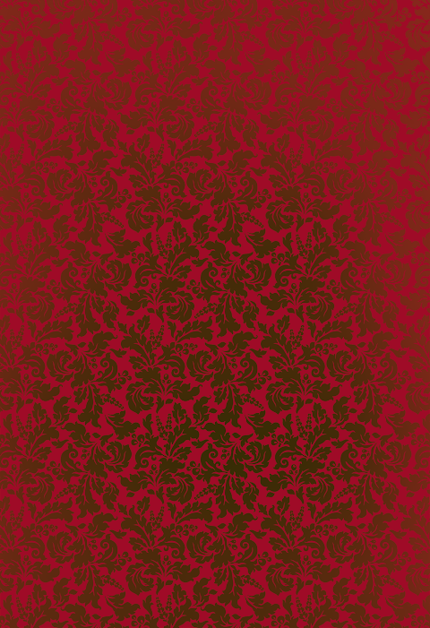 Red-color-textile-design-pattern-7026