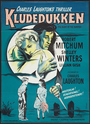 The Night of the Hunter - German Movie Poster