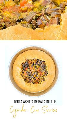 Torta aberta de Ratatouille