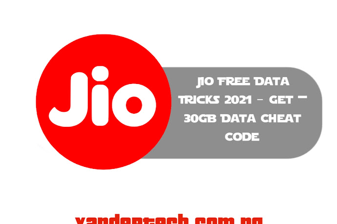 Jio Free Data Tricks 2021 – Get + 30GB Data Cheat