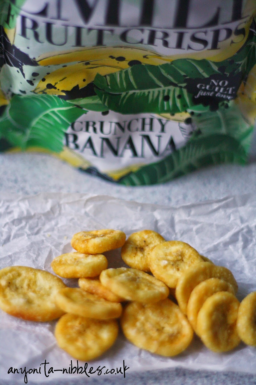 Emily Fruit Crisps Crunchy Banana by Anyonita-nibbles.co,.uk